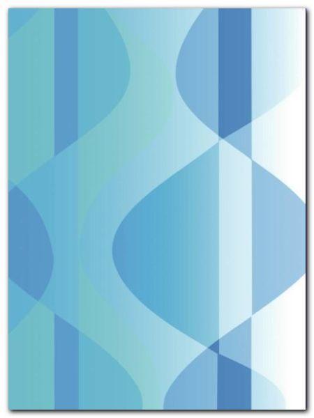 Blue Waves plakat obraz 60x80cm (1)