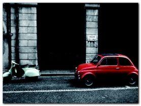 Italianita plakat obraz 80x60cm