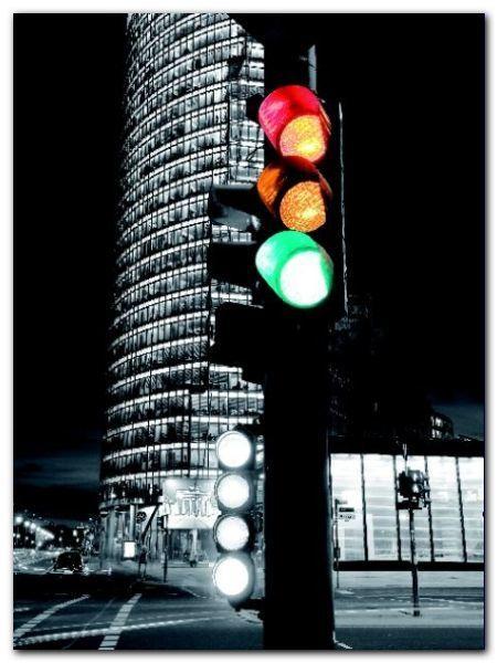 Traffic Lights plakat obraz 60x80cm (1)