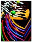 Colourful Bikes plakat obraz 60x80cm (1)