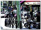 Parisian Cafe plakat obraz 80x60cm (1)
