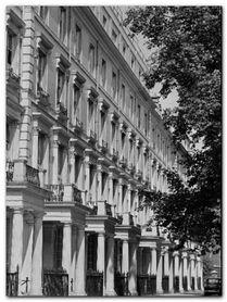 Terraced Houses London plakat obraz 60x80cm