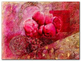 Fleurs D Automne I plakat obraz 80x60cm