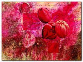 Fleurs D Automne II plakat obraz 80x60cm