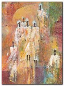 Sahara II plakat obraz 60x80cm