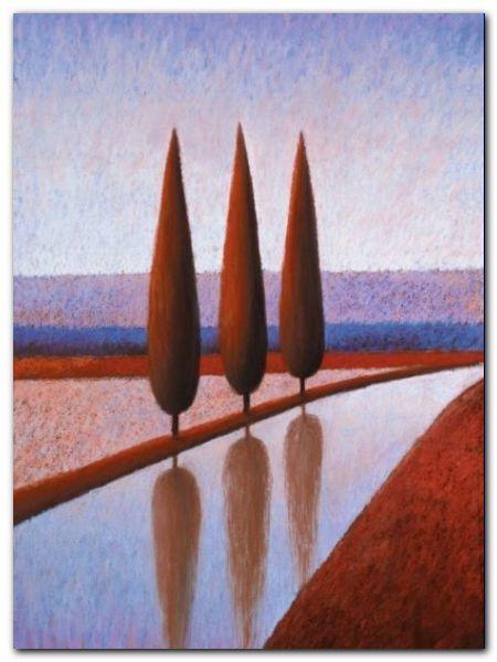 Reflections III plakat obraz 60x80cm (1)