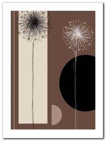 Dandelions plakat obraz 60x80cm