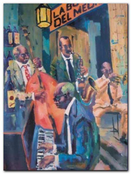 La Bodeguita Del Medio plakat obraz 60x80cm (1)