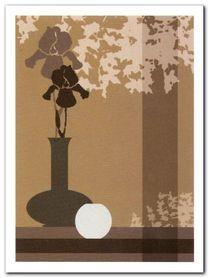 Silhouettes II plakat obraz 60x80cm