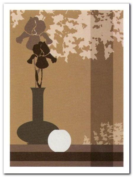 Silhouettes II plakat obraz 60x80cm (1)
