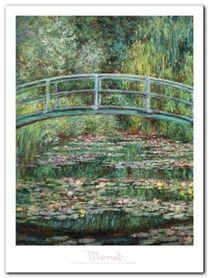 Le Pont Japonais plakat obraz 60x80cm