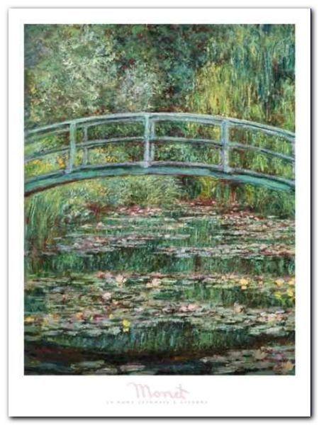 Le Pont Japonais plakat obraz 60x80cm (1)
