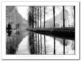 Canal, Normandy plakat obraz 80x60cm