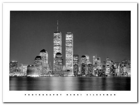 Manhattan plakat obraz 80x60cm (1)