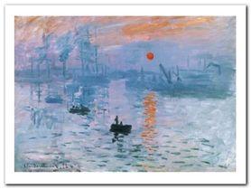 Impression Soleil plakat obraz 80x60cm