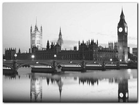 Big Ben And Parliament plakat obraz 80x60cm (1)