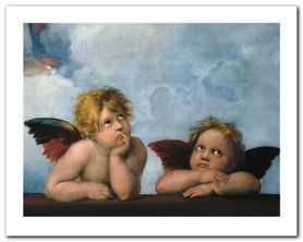 Little Angels plakat obraz 30x24cm