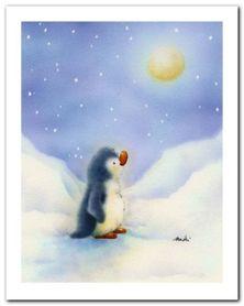 Little Penguin plakat obraz 24x30cm