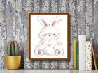 Rabbit plakat obraz 24x30cm (3)