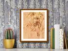 Bamboo Leaves II plakat obraz 24x30cm (3)