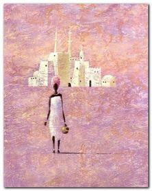 Timbouktou II plakat obraz 24x30cm