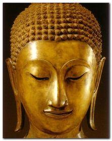 Buddha Sakyamuni plakat obraz 24x30cm