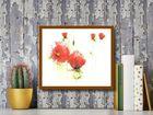 Red Poppies I plakat obraz 30x24cm (3)