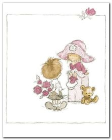 Childrens World II plakat obraz 24x30cm
