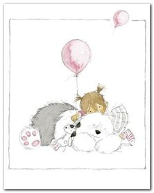 Childrens World III plakat obraz 24x30cm