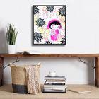 Baby Kiku plakat obraz 24x30cm (2)