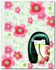 Hanako plakat obraz 24x30cm (1)