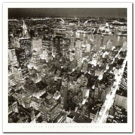 Empire State B. plakat obraz 70x70cm (1)