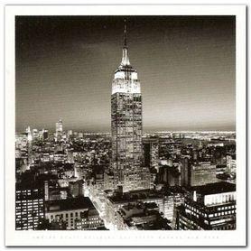 Empire State B. plakat obraz 70x70cm