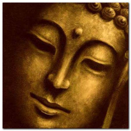 Gautama I plakat obraz 70x70cm (1)