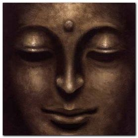 Gautama II plakat obraz 70x70cm