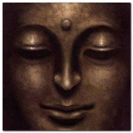 Gautama II plakat obraz 70x70cm (1)