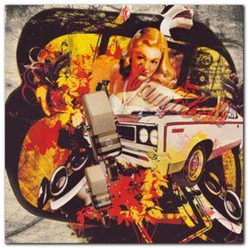 Cassie`S Car plakat obraz 70x70cm