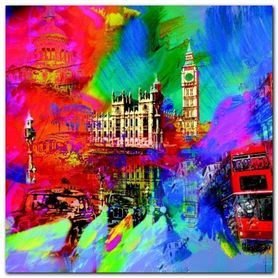 London plakat obraz 70x70cm