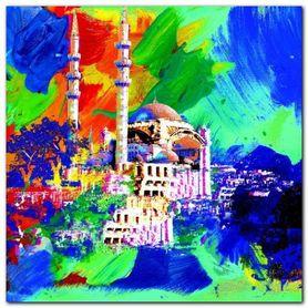 Istanbul plakat obraz 70x70cm