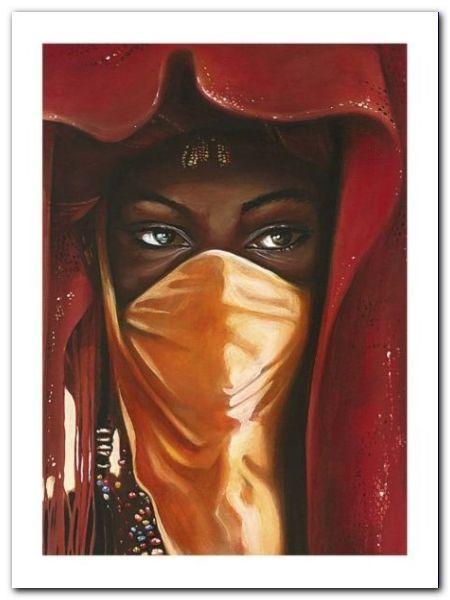 Hidden Beauty plakat obraz 60x80cm (1)