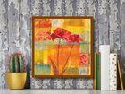 Red Tulips I plakat obraz 50x50cm (3)
