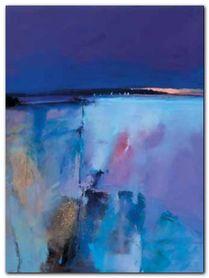 Blue Horizon plakat obraz 60x80cm