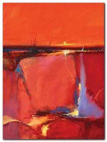 Red Horizon plakat obraz 60x80cm