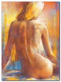 Nu De Dos I plakat obraz 60x80cm