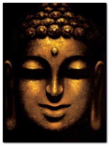 Mahayana Buddha plakat obraz 60x80cm (1)