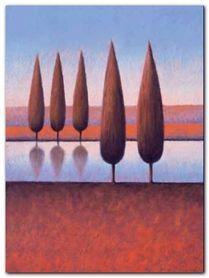 Reflections V plakat obraz 60x80cm