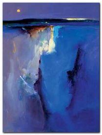 Violet Horizon plakat obraz 60x80cm