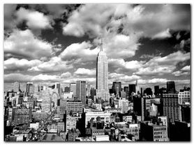 Sky Over Manhattan plakat obraz 80x60cm