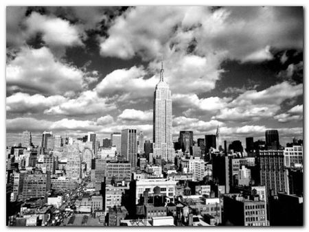 Sky Over Manhattan plakat obraz 80x60cm (1)