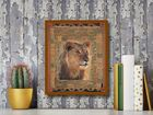 Lion plakat obraz 40x50cm (3)